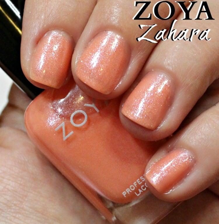 Zoya Zahara Nail Polish Swatches