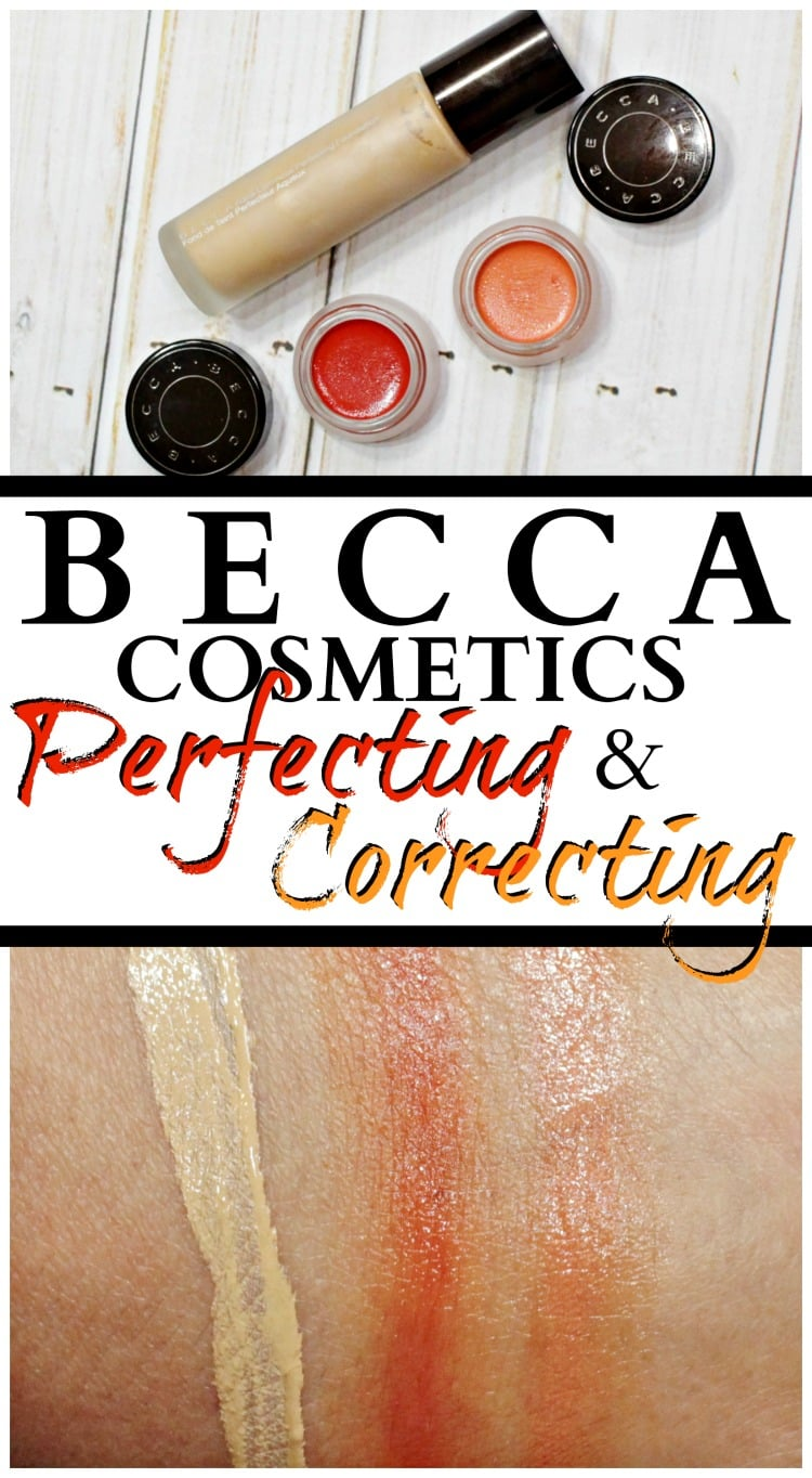 complexion perfecting correcting concealer foundation becca cosmetics