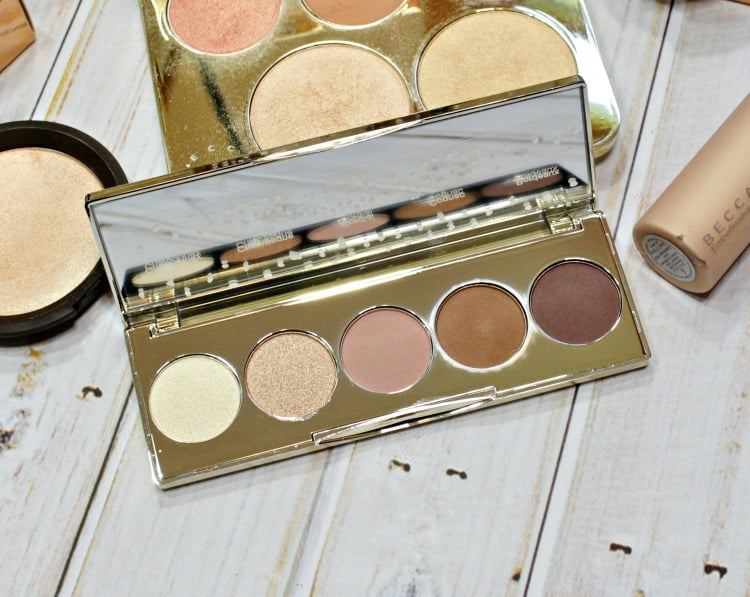 BECCA x Jaclyn Hill Champagne Collection Eye Shadow Palette swatches review
