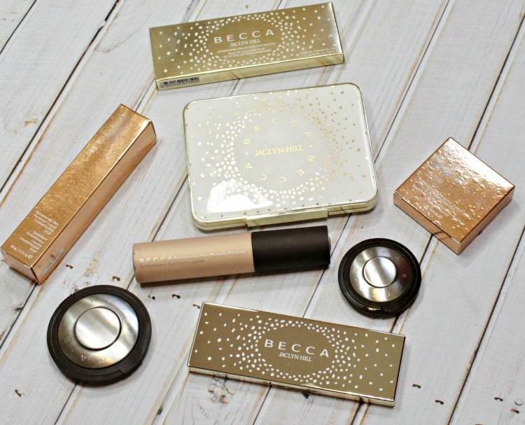 BECCA x Jaclyn Hill Champagne Pop Collection packaging