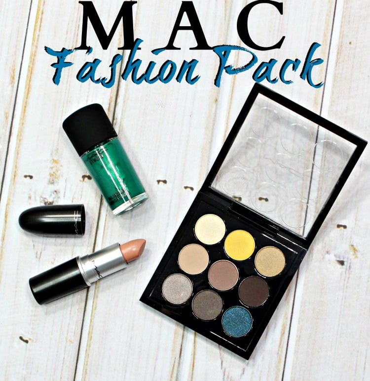 MAC Fashion Pack Collection swatches review swatch pic