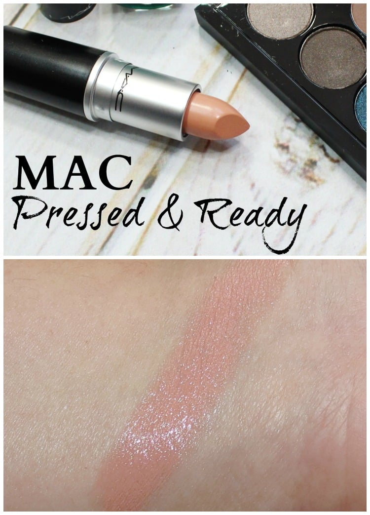 MAC Pressed & Ready Lipstick Swatches pic swatch