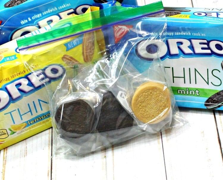 OREO THINS snacks pool bag