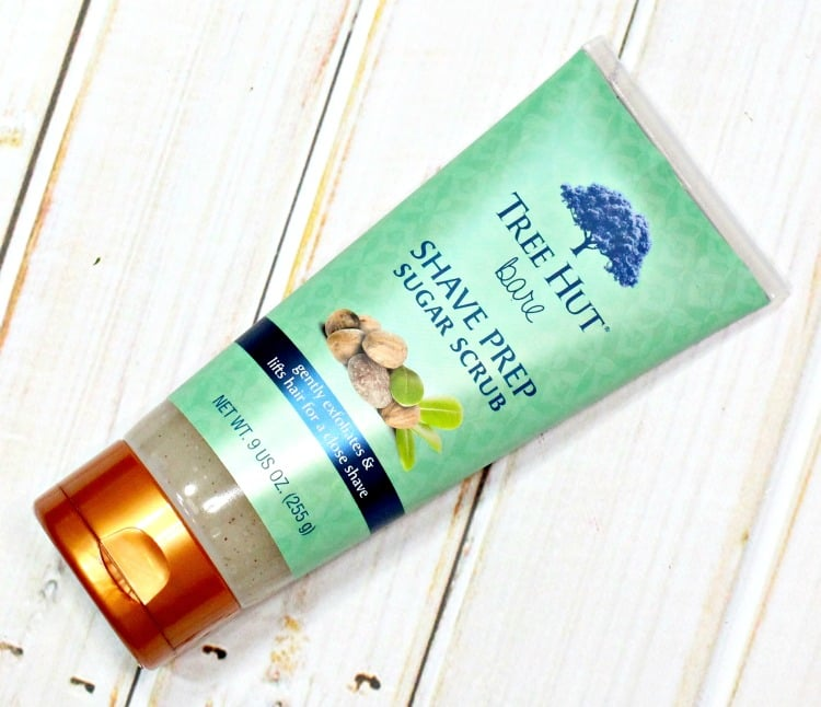 Tree Hut Bare Shave Prep Sugar Scrub review