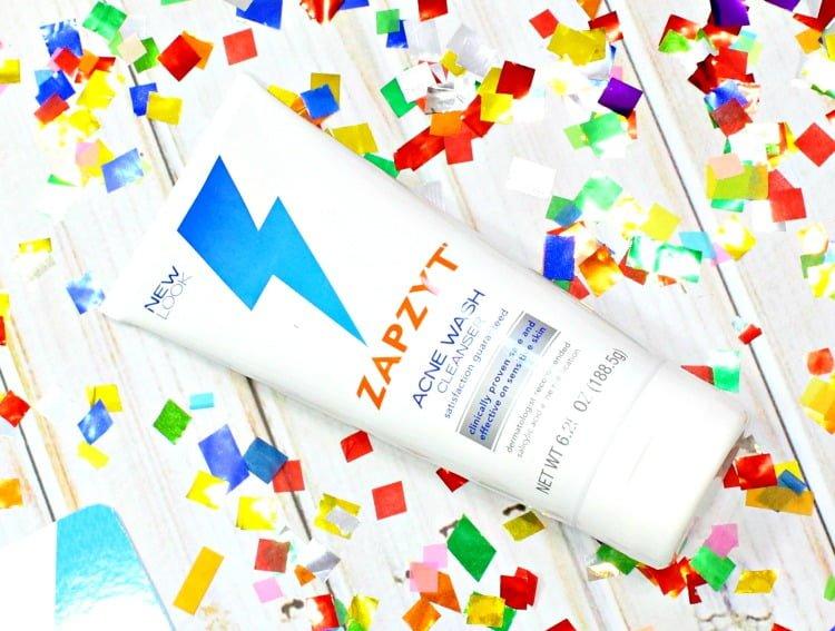 ZAPZYT Acne Wash Cleanser review #lovezapzyt #zapmyzit