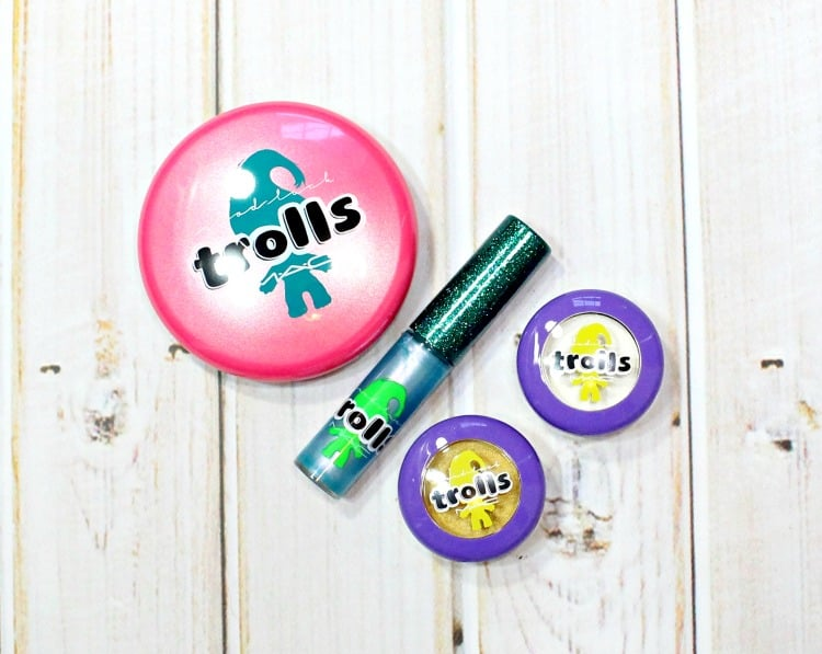 MAC Good Luck Trolls Makeup Collection packaging review photos swatches
