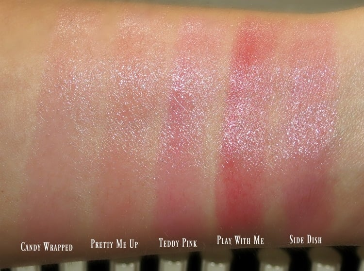 MAC Tendertalk Lip Balm Swatches review
