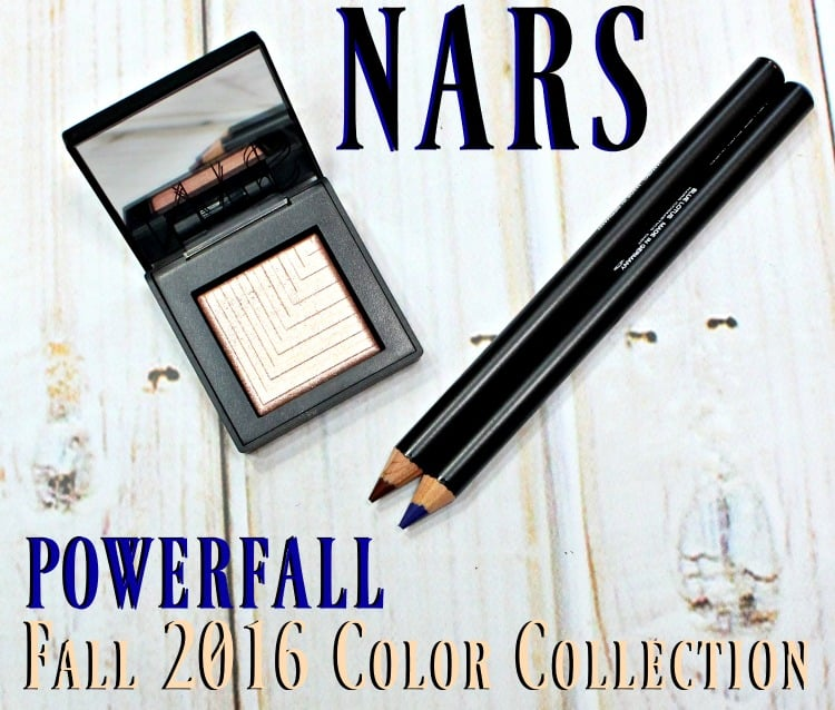 NARS POWERFALL Fall 2016 Makeup Color Collection swatches review swatch pics