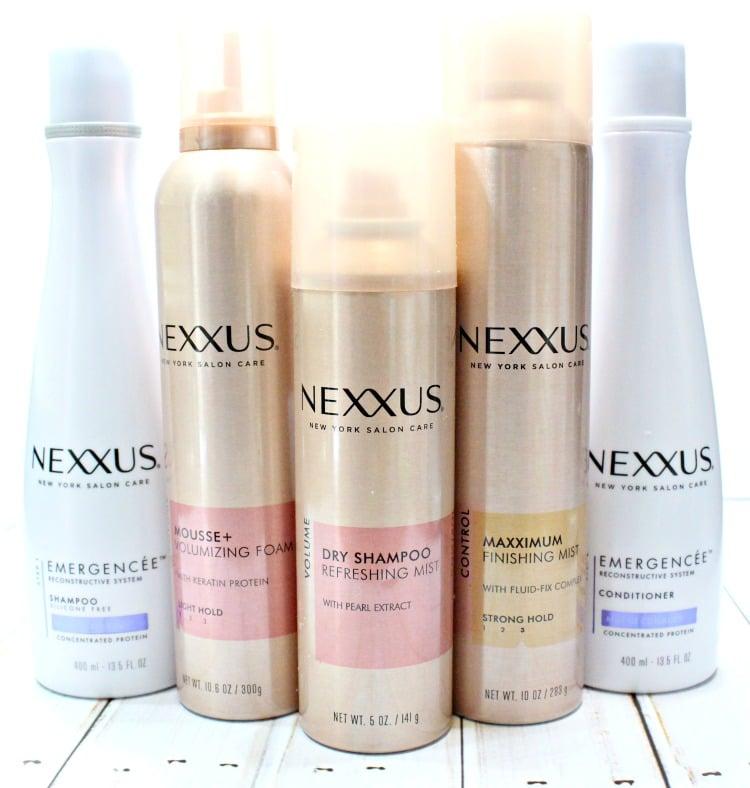 Nexxus Dry Shampoo refreshing mist review