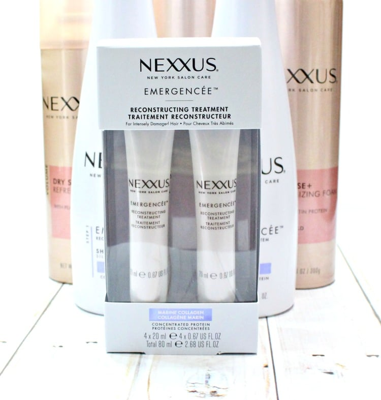 Nexxus Emergencee reconstructing treatment review 1