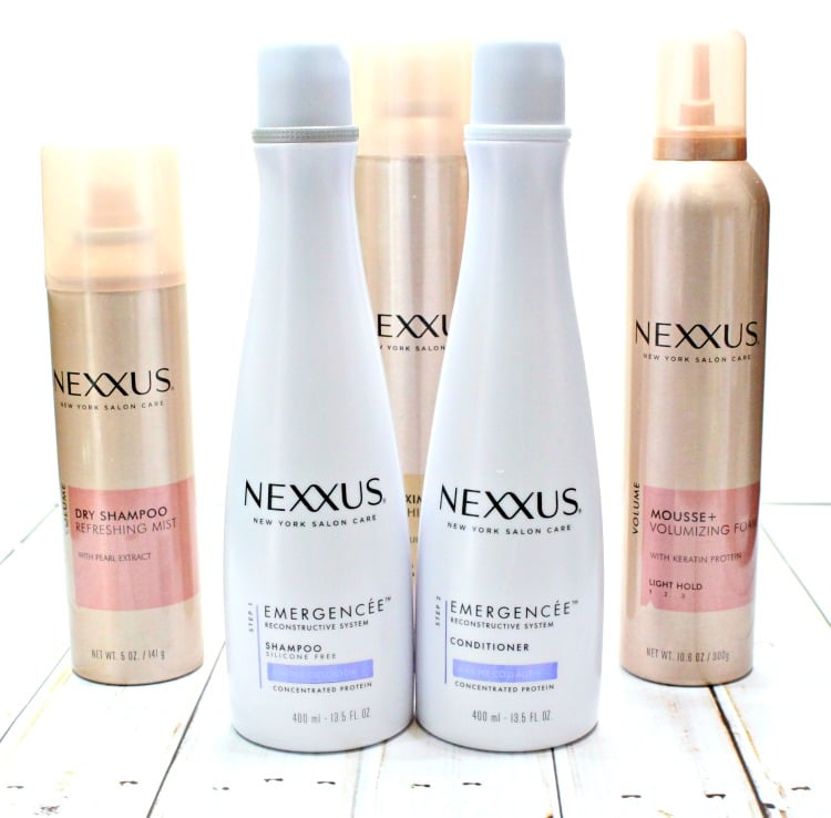 Nexxus Emergencee regime review 2