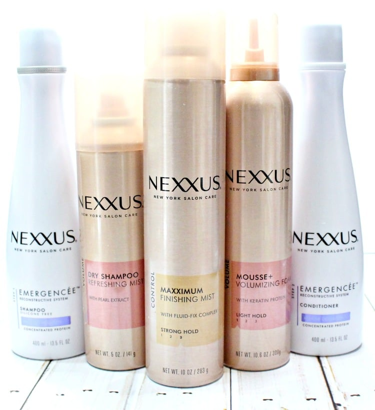 Nexxus Maximum Finishing Mist review 1