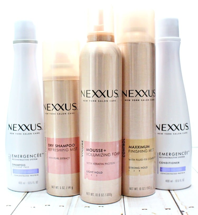 Nexxus Volumizing Foam Mousse review