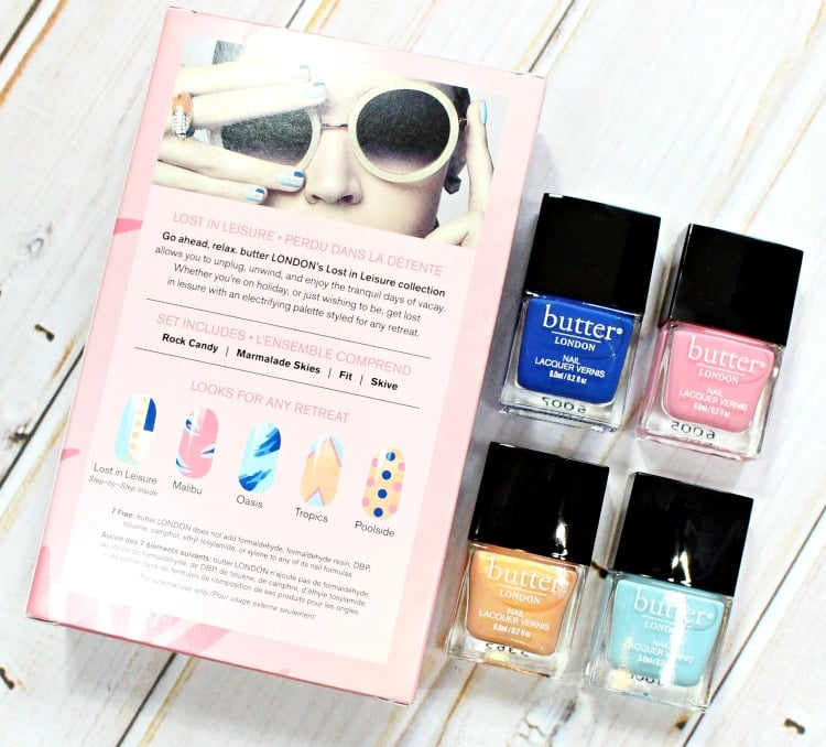Butter™ London Lost In Leisure Lacquer Set review coupon code