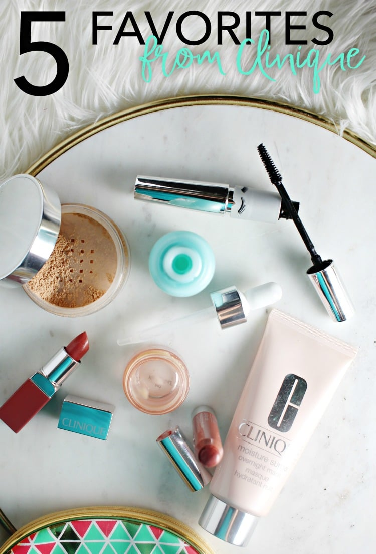 Justina's Gems 5 favorites from clinique