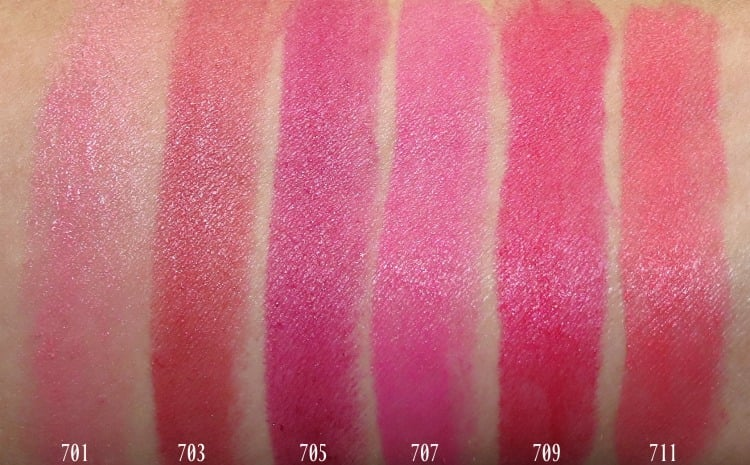 L'Oreal Paris Colour Riche lipstick makeup swatches review photos swatch pics eva JLO Blake