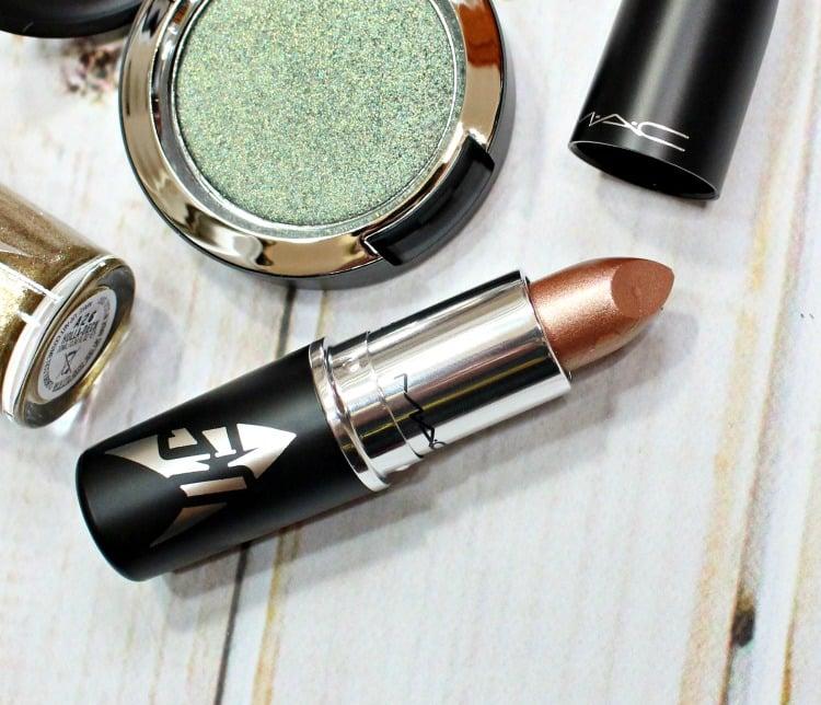 MAC LLAP Lipstick swatches review photos swatch pics #MACStarTrek