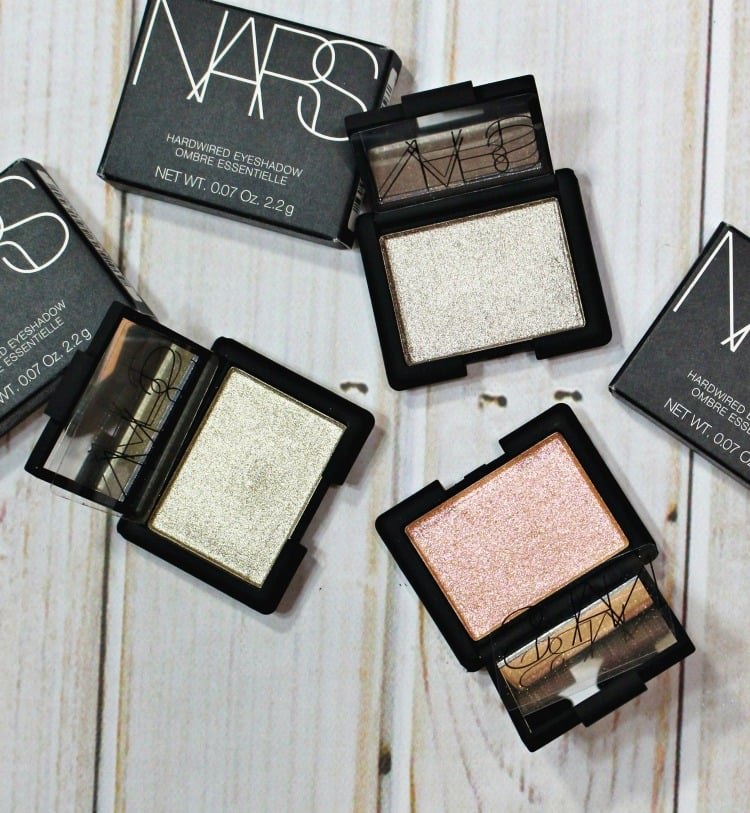 NARS Hardwired Eyeshadow Swatches review swatch pics photos