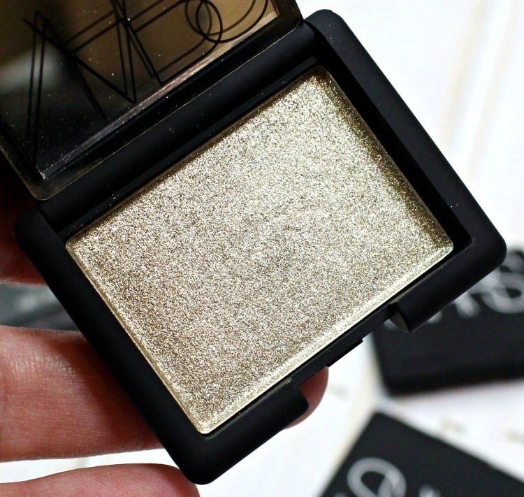 NARS Pygar Hardwired Eyeshadow Swatches review swatch pics