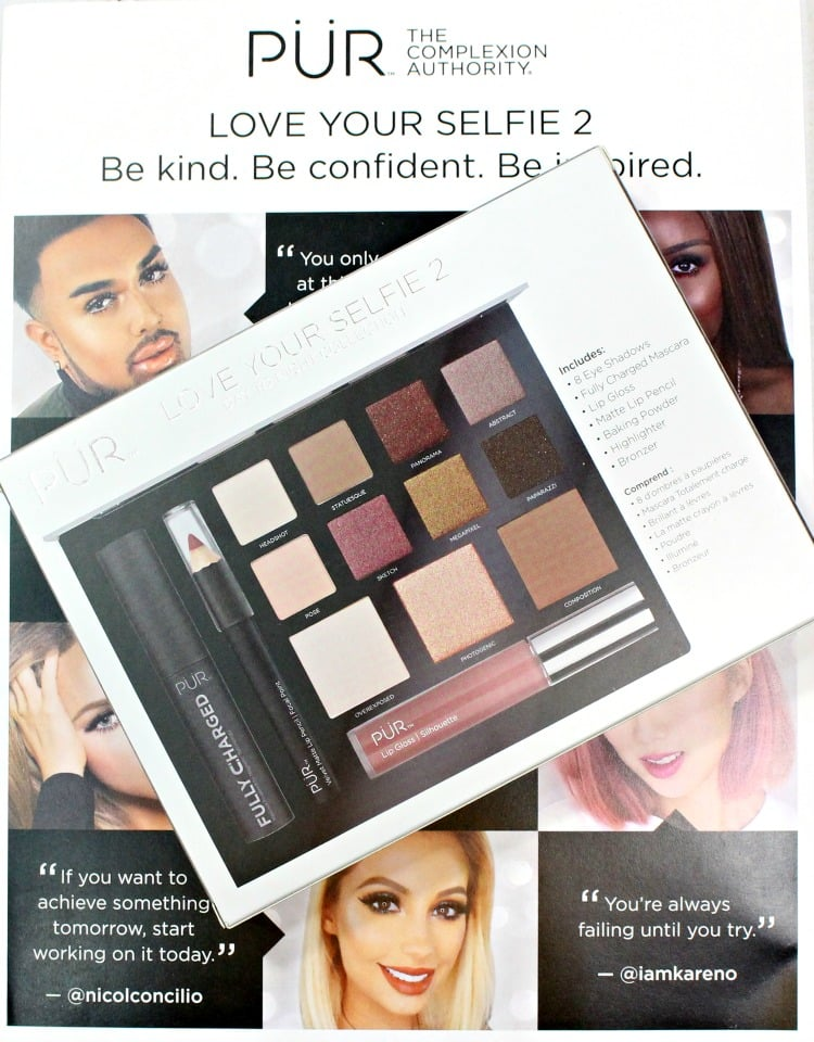 PUR Cosmetics Love You Selfie 2 palette shades
