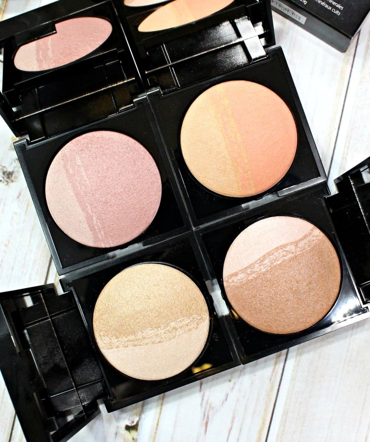 SENNA Brilliant Blush Bronze makeup cheek collection swatches review swatch pics
