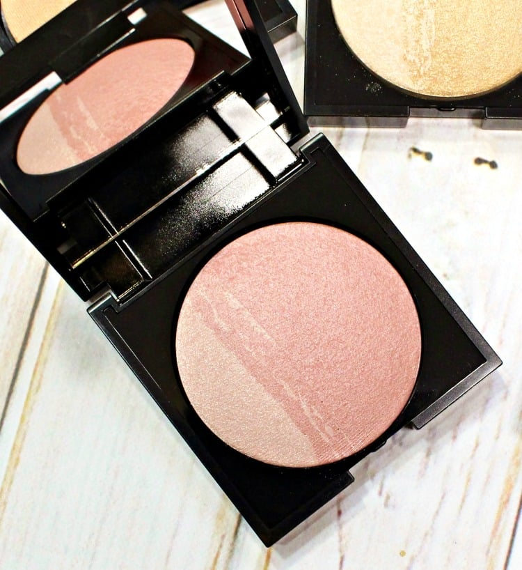 SENNA Vanity Brilliant Blush Swatches review swatch pics