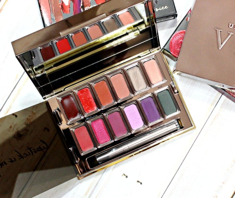 Urban Decay Junkie Vice Palette review photos swatches holiday 2016 swatch pics