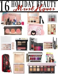 holiday beauty makeup must haves christmas gift giving party - Christmas Must Haves