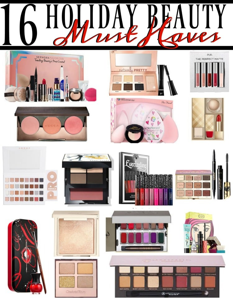 16 Holiday Makeup Must-Haves