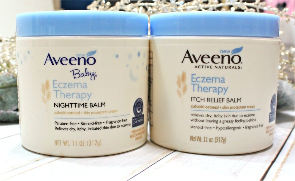 Aveeno Baby Eczema Therapy Nighttime Balm + Q & A with Dr. Jeanine B. Downie - Blushing Noir