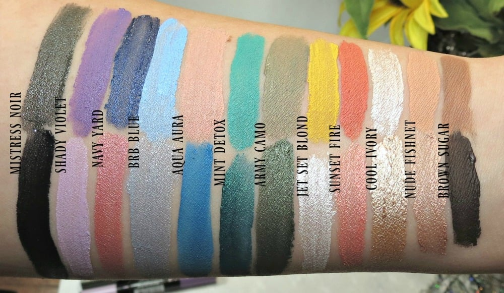 l 39 oreal infallible paints eyeshadow swatches review