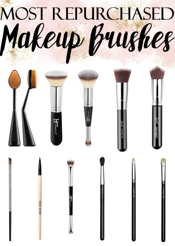 The Most Repurchased Makeup Brushes by a Beauty Blogger