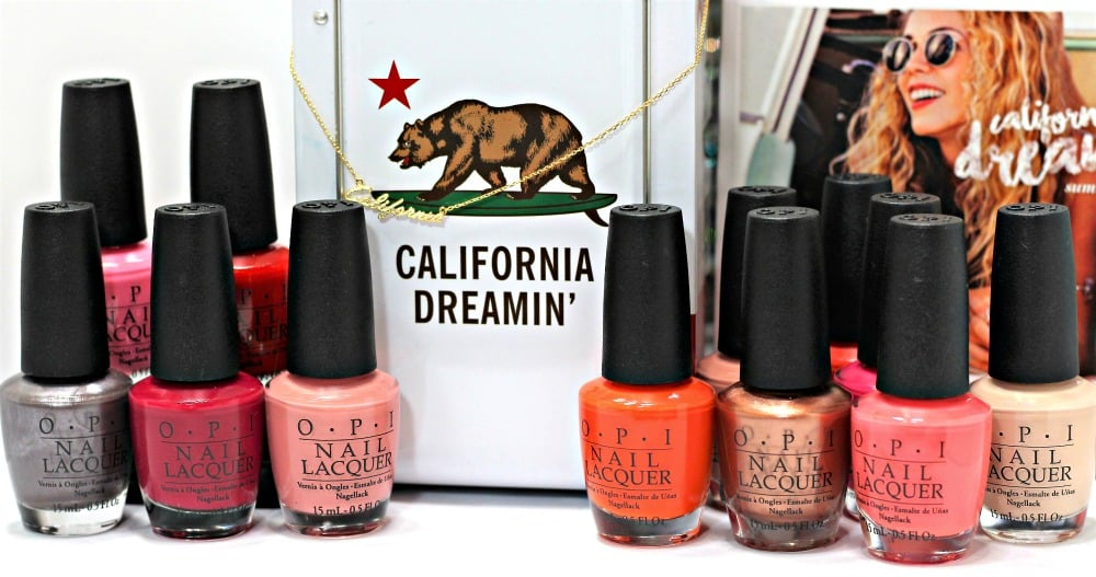 OPI California Dreaming Nail Polish Collection Swatches + Review