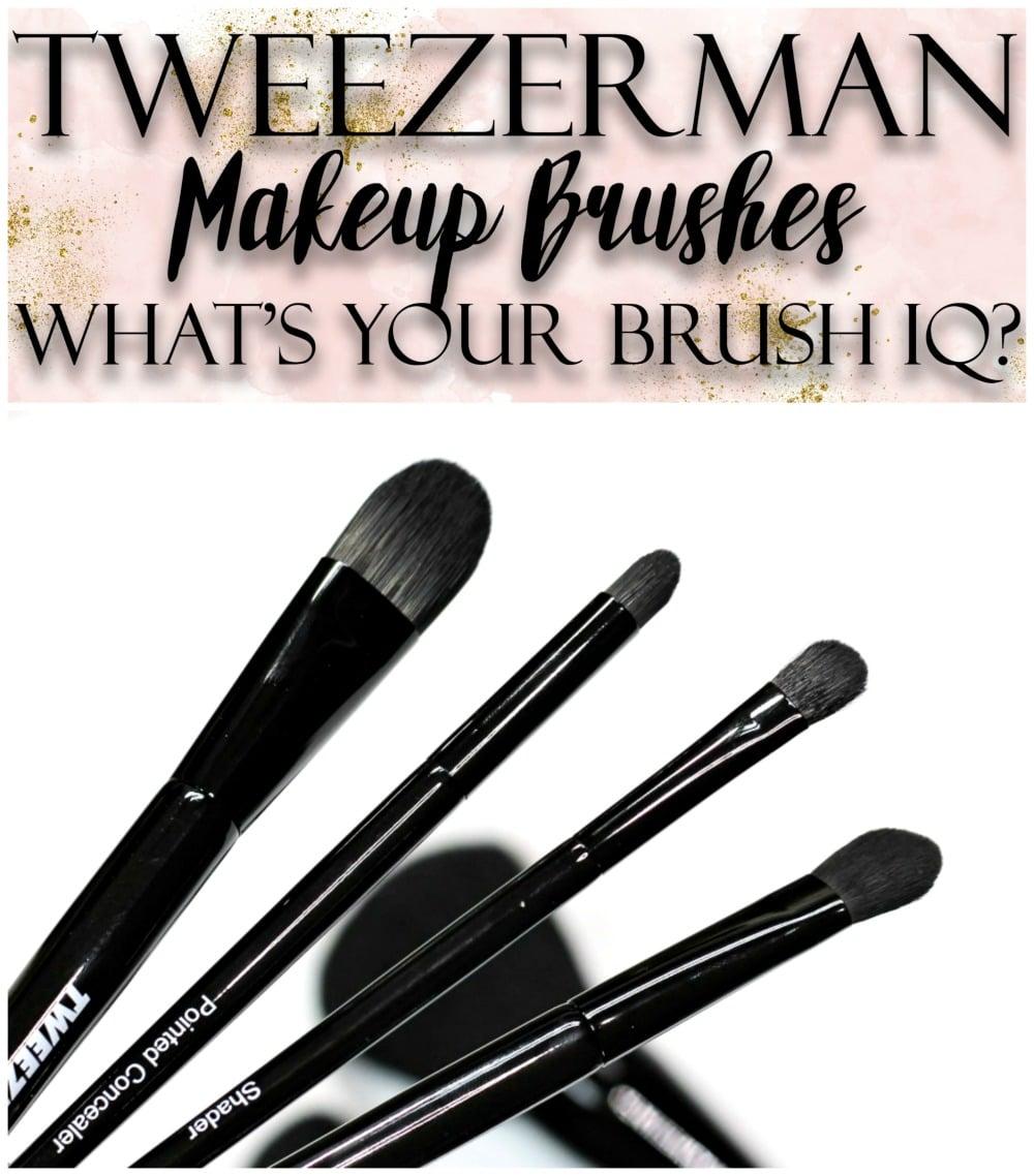 Fashion week Brush tweezerman iq brushes for woman