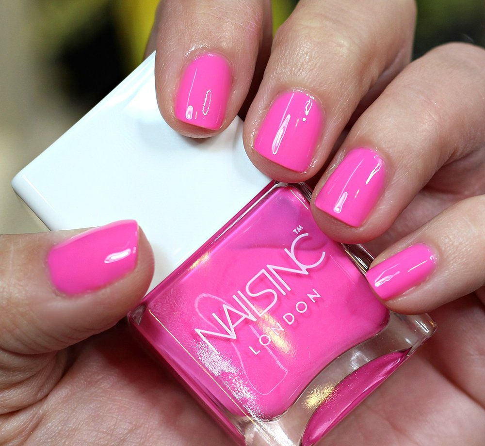Nail Escapades Polishers Inc: Summer Neon Nail Trends // NAILS INC Rainbow Riot Nail Polish
