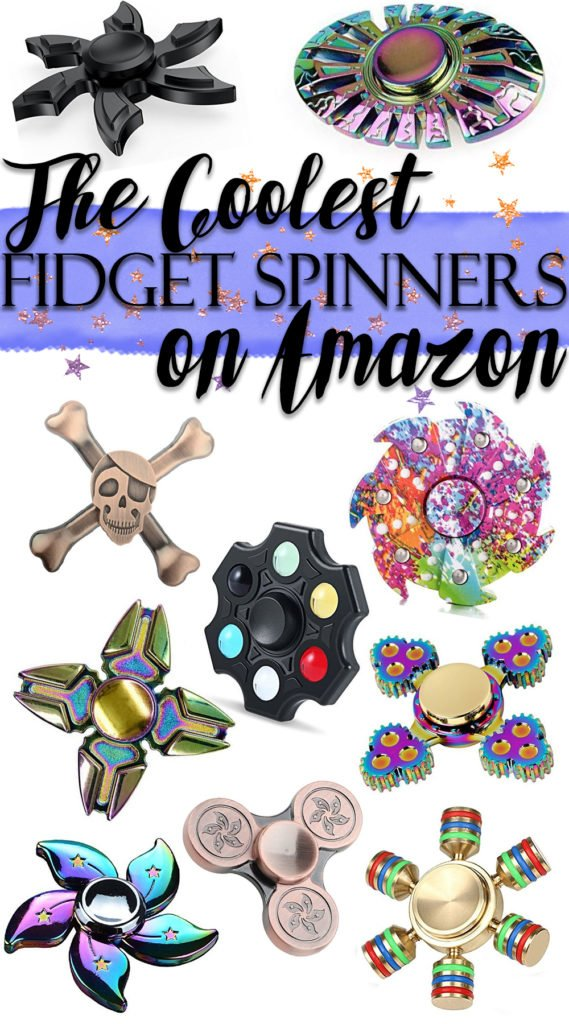The 10 Coolest Fidget Spinners on Amazon
