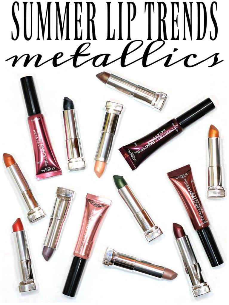 Affordable Summer Lip Trends // Metallic Lipstick