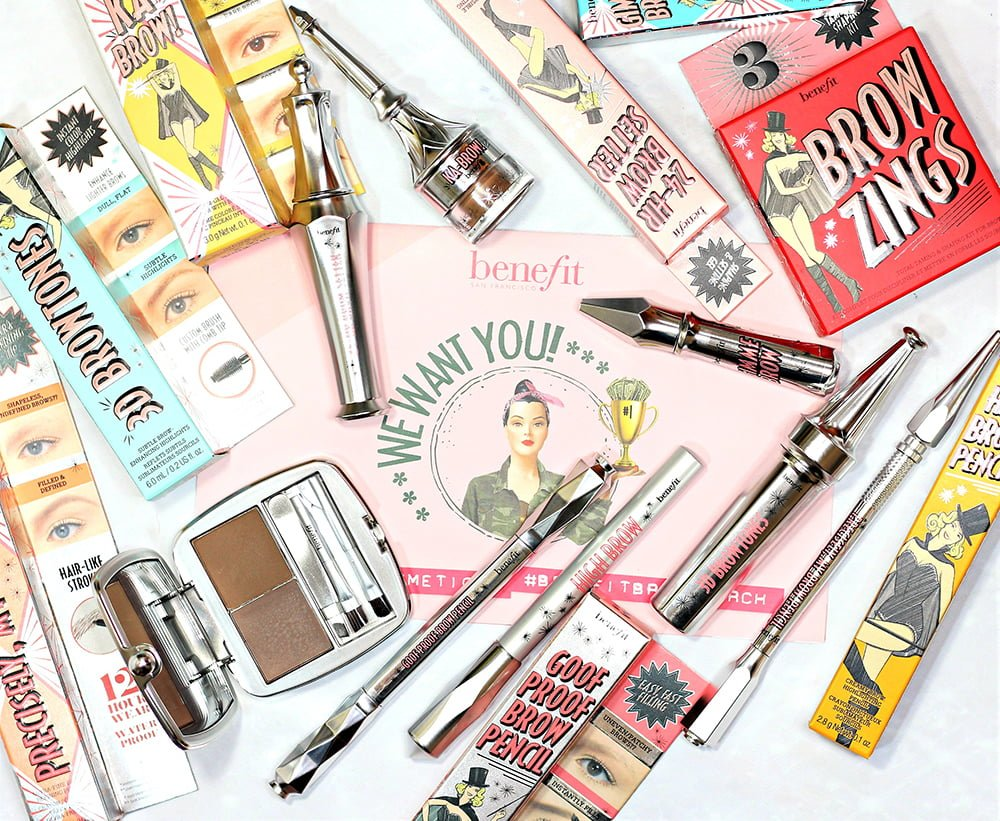 My Favorite Way to Use Benefit Brow Makeup + Contest Info