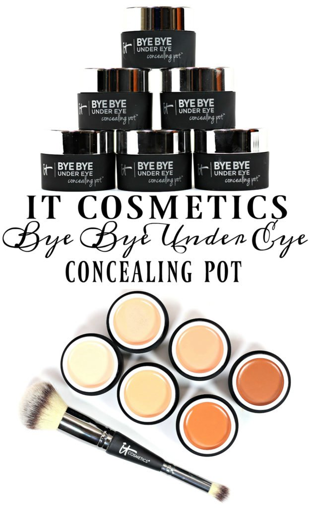IT Cosmetics Bye Bye Under Eye Concealing Pot Swatches + Review