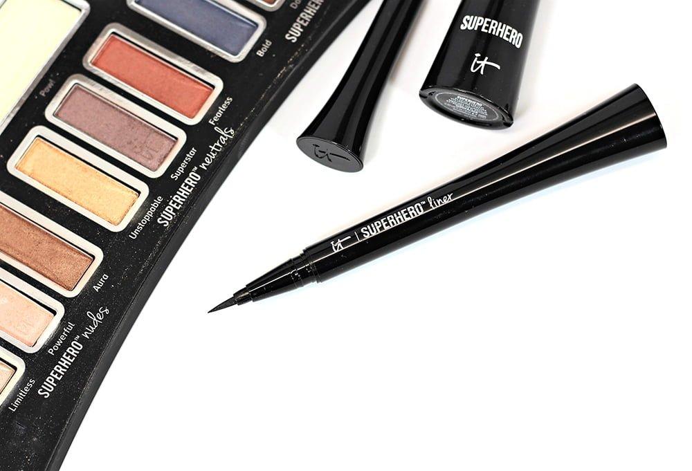 La Girl Line Art Matte Eyeliner Review : It cosmetics superhero liner swatches review eotd