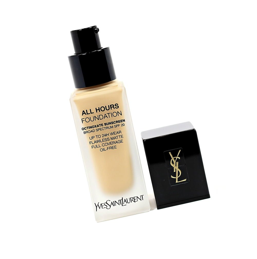 386c93f2808cc Yves Saint Laurent All Hours Full Coverage Matte Foundation // Oily Skin  Review