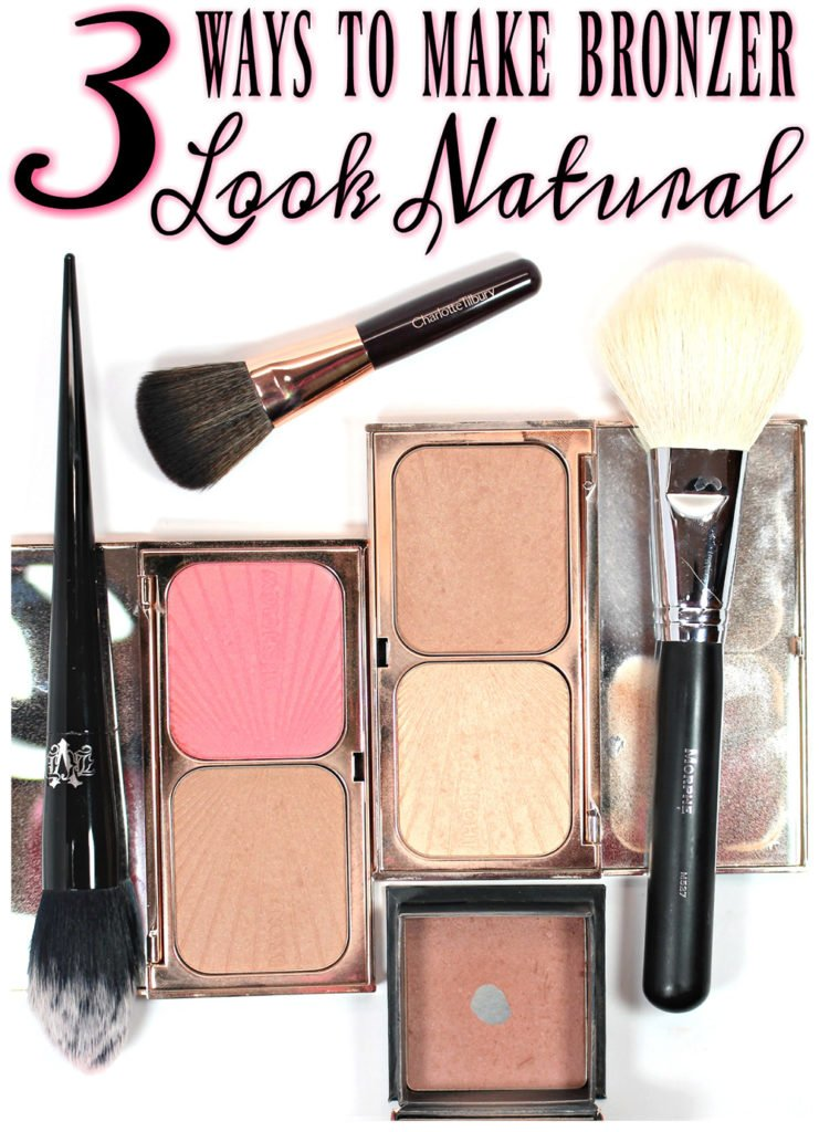 3 Ways to Make Bronzer Look Natural