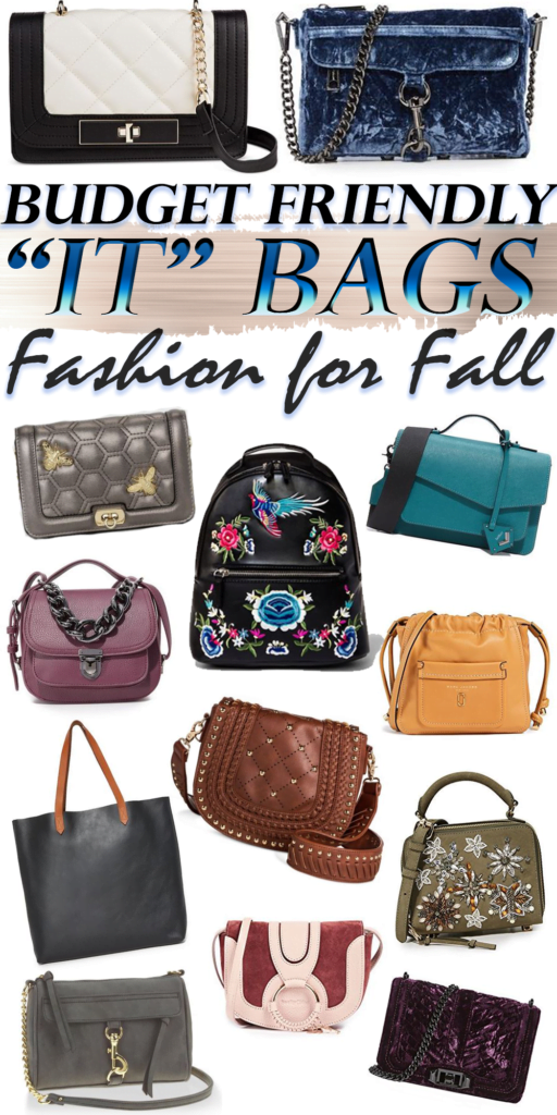Budget Friendly IT Bags for Fall