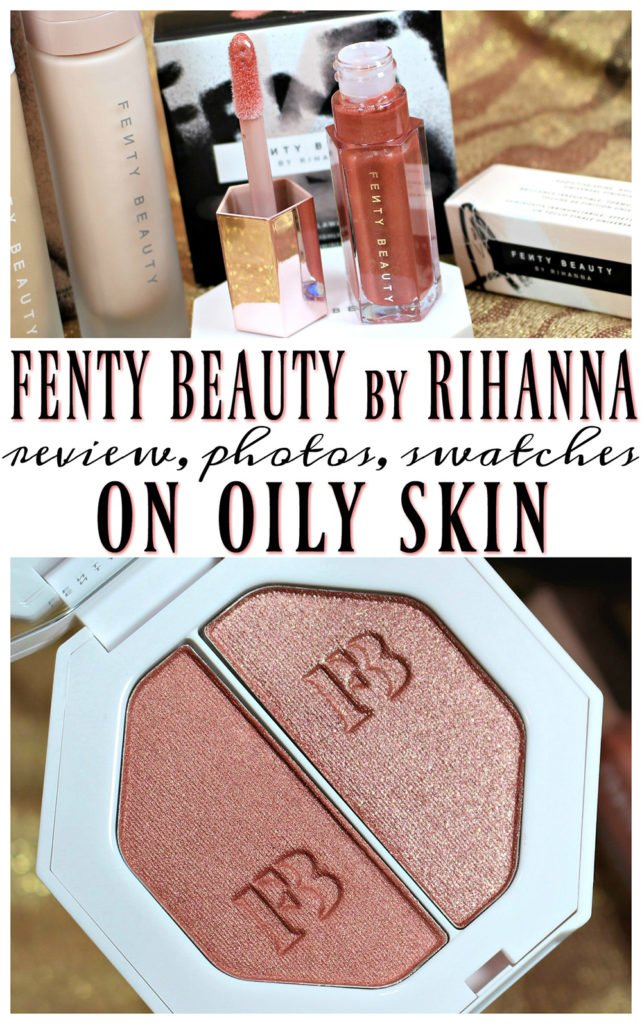 Fenty Beauty by Rihanna Makeup Swatches, Review + FOTD