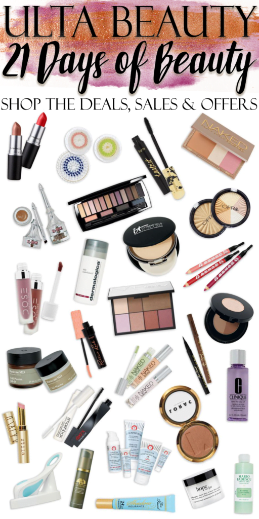 How to Shop the ULTA 21 Days of Beauty Sale