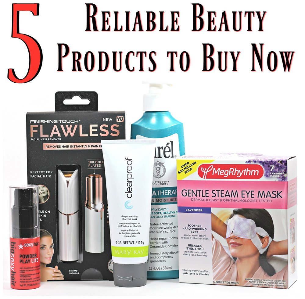 5 Reliable Beauty Products to Buy Now