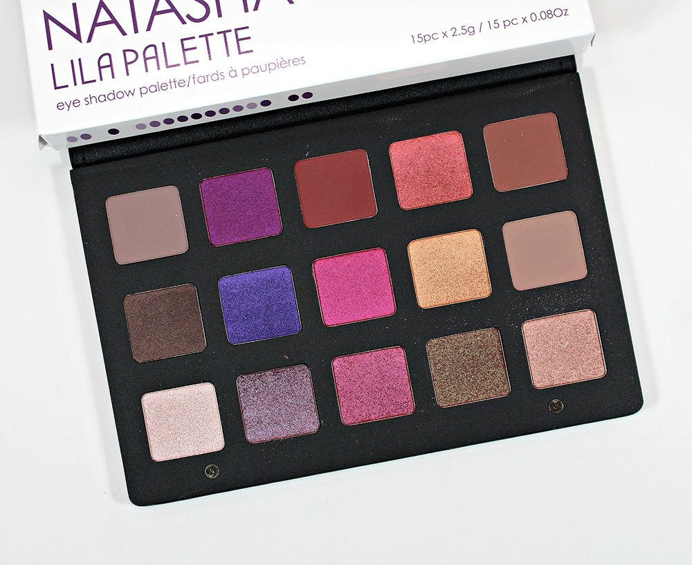 Natasha Denona Lila Eyeshadow Palette Swatches, Review + EOTD