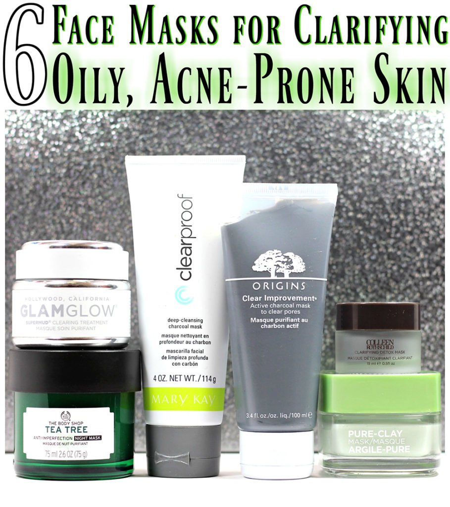 6 Face Masks for Clarifying Oily, Acne-Prone Skin