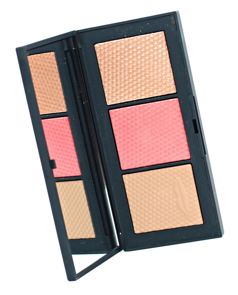NARS The Veil Cheek Palette Swatches + Review // Man Ray Holiday 2017