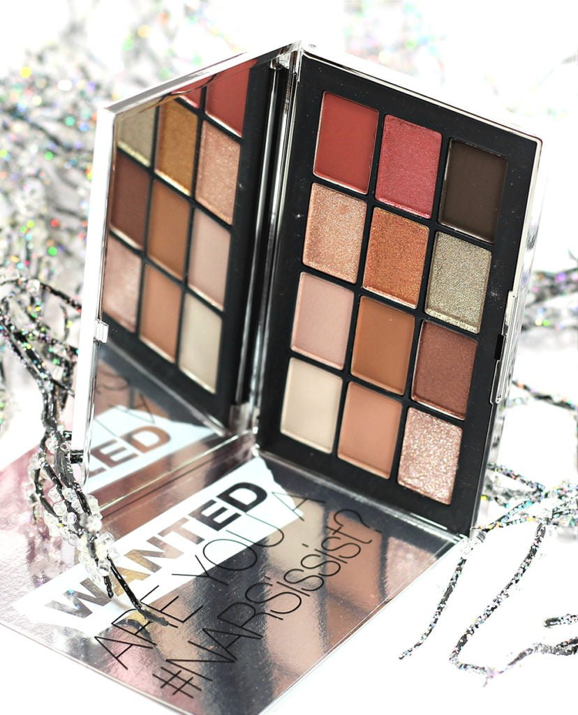 NARS NARSissist Wanted Eyeshadow Palette Swatches, Review & EOTD